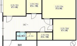 音楽スタジオ・SNS撮影スタジオに!西鉄大橋駅から徒歩4分